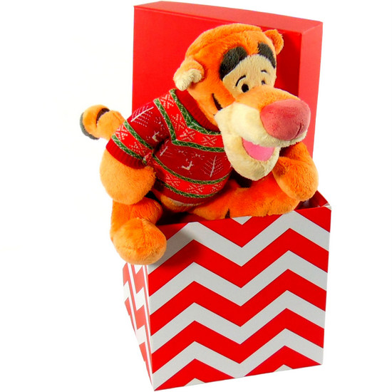 Tigger Christmas Bear Gift Box