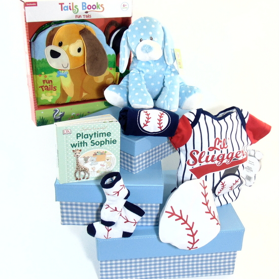 Baby Gift Tower Blue