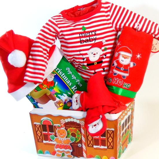 Merry Baby Gift Basket