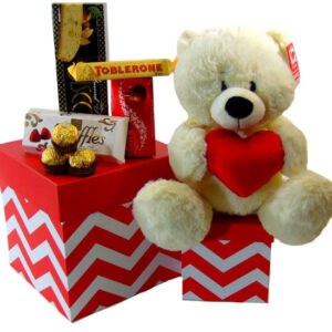 Gift Tower Bear
