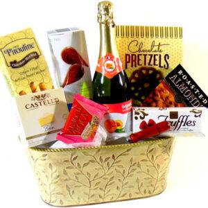 Yellow Gift Basket