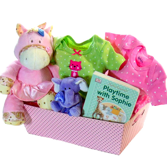Princess Baby Basket
