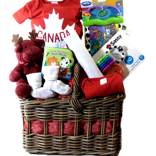Canada Baby Gift Basket