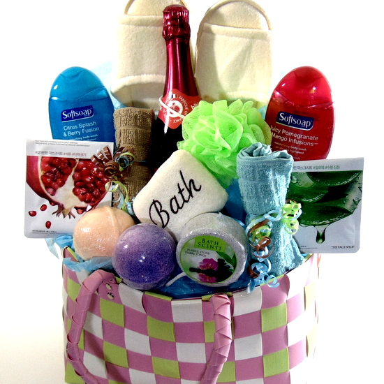 Purse Spa Gift Basket