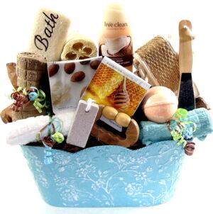 Spa Day Gift Basket
