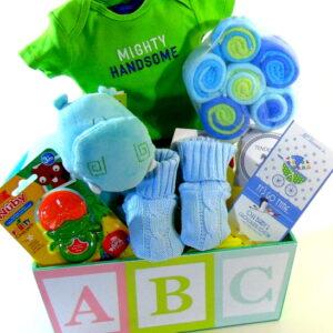 ABC Baby Boy Basket