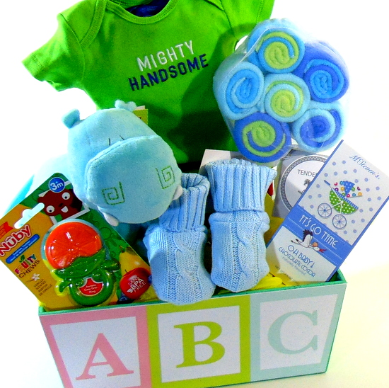 ABC Baby Boy Basket