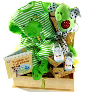 Baby Keepsake Basket