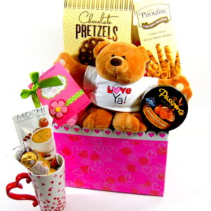 Heart Gift Basket