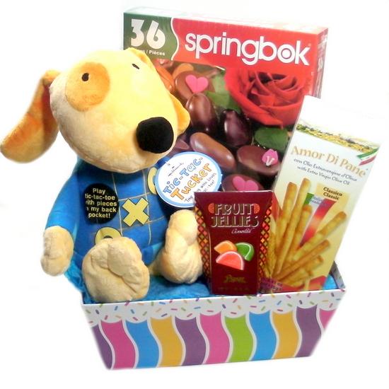 Stuffed Animal Gift Basket