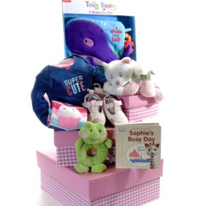 Baby Gift Tower Pink