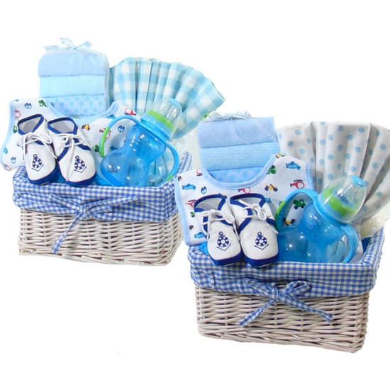 Twin Boy Basket