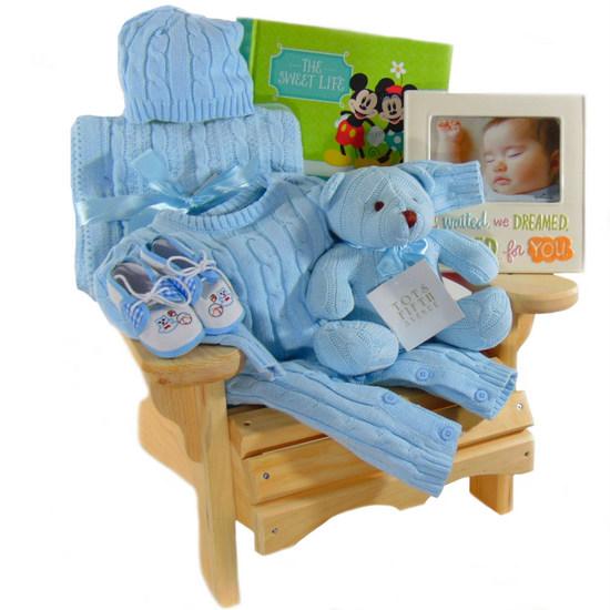 First Muskoka Chair Boy