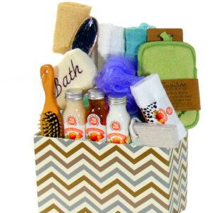 Wellness Spa Gift Basket