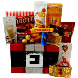 Gourmet Santa Basket