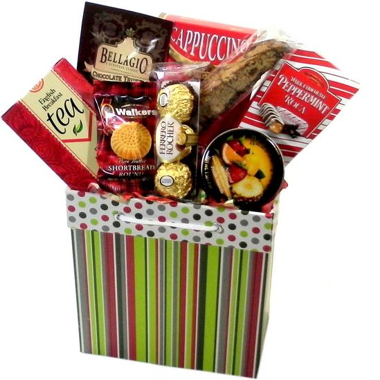 Chocolate Christmas Basket