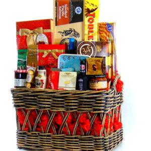 Christmas Gourmet Gift Basket