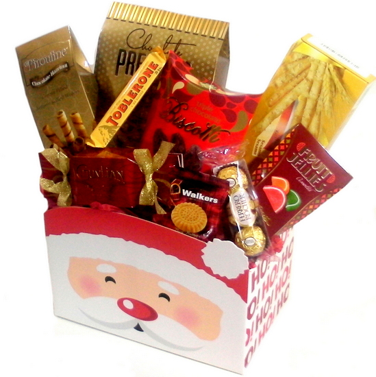 Gift Basket Santa