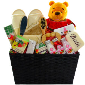 Christmas Spa basket