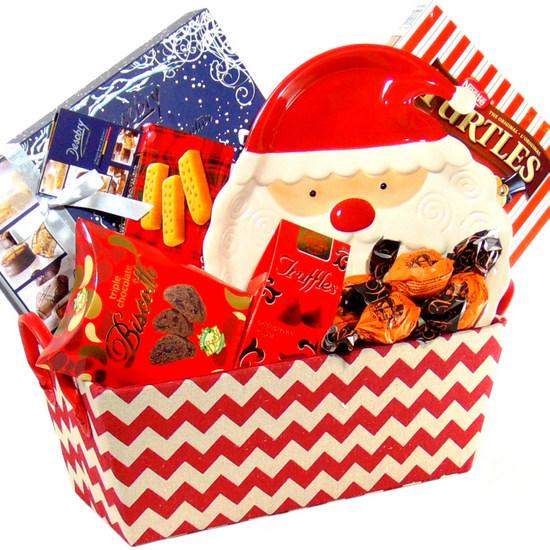 Santa Gourmet Basket